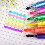 Y-BOA Crayon Fluorescente 6 Couleurs Surligneur Stylo Marqueurs Forme Seringue Créatif de la marque Y-BOA image 3 produit