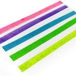 Zebra–Kirarich Paillettes d'encre Surligneur–Pochette de 5–Bleu, Vert, Rose, Violet et jaune de la marque Zebra-Kirarich image 2 produit