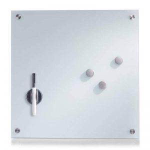 Zeller 11600 Tableau Mèmo en Verre Blanc 40 x 40 cm de la marque Zeller image 0 produit