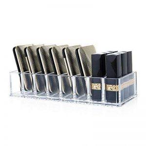 ZWOOS Acrylique Fard à Paupières Organisateur en Acrylique Pour Maquillage pour L'ombre à Paupières, Le Blush, Le Surligneur, La Poudre de Fond et Le Rouge à Lèvres de la marque ZWOOS image 0 produit
